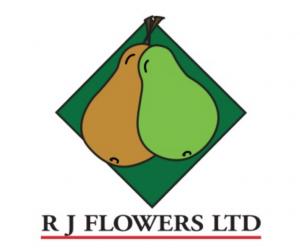 R J Flowers Pears logo