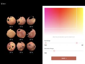 Spectre colour calibration