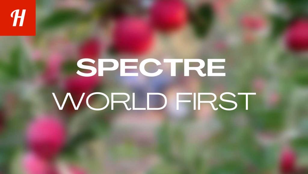 Spectre world first