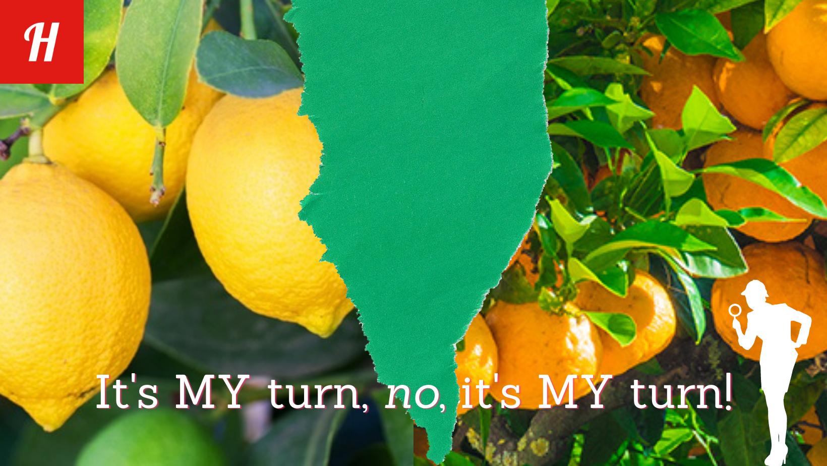 Spectre for lemons and mandarins